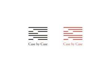 Case by Case logo design