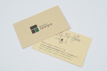 Osteria tempo logo & shopcard design