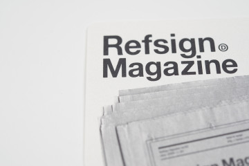 Refsign magazine logo & card