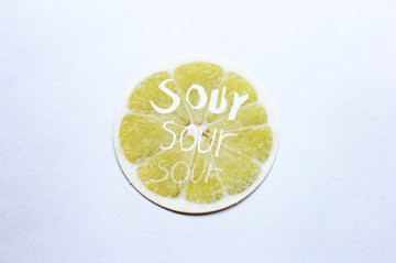 sour shopcard design