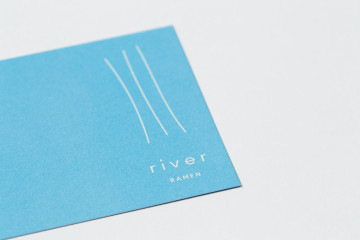 river RAMEN NAMECARD DESIGN