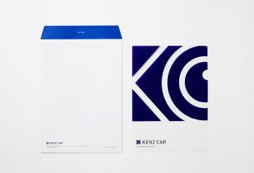 KENZ CAR 封筒・クリアファイル デザイン