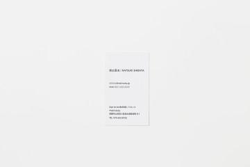 TOKINOHA NAMECARD DESIGN