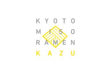 KYOTO MISO RAMEN KAZU LOGO DESIGN