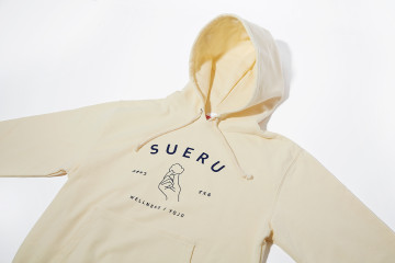 SUERU hooded sweatshirt DESIGN
