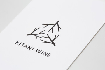 KITANI WINE NAMECARD DESIGN