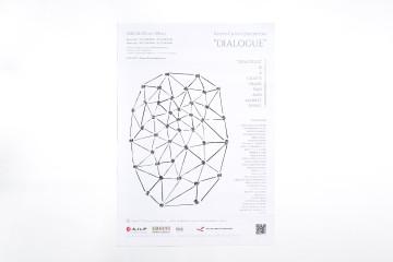 DIALOGUE [KOUGEI NOW 2020] POSTER DESIGN