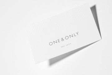 ONE&ONLY NAMECARD DESIGN