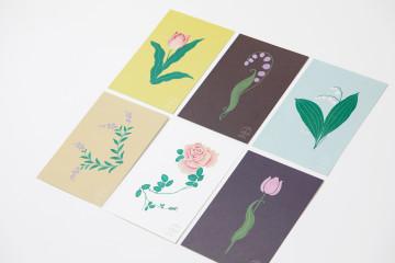 SHUNKA TAKAHASHI ポストカードデザイン(グッズデザイン)