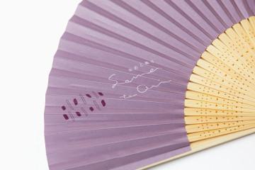 SOMETOORI(染めと織り) 扇子デザイン