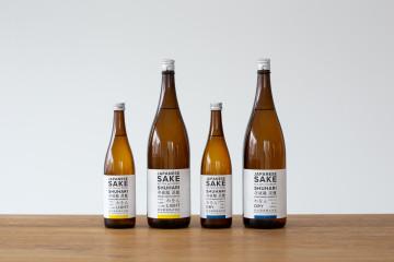 松本酒造株式会社 WAWON 日本酒ラベルデザイン